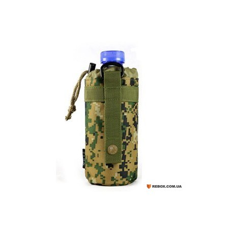 Чехол-подсумок Molle для бутылки D5-9225, Jungle digital