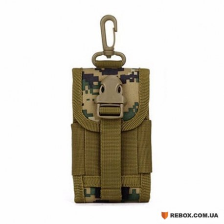Подсумок Molle для телефона D5-9221, Jungle digital