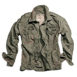 "Куртка ""SURPLUS HERITAGE VINTAGE JACKE"", Washed olive"