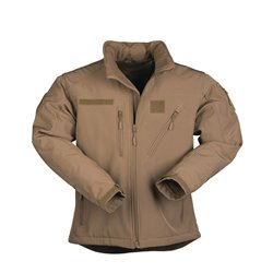 "Куртка демисезонная софтшелл ""SOFTSHELL JACKET SCU"", Coyote"