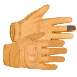 "Перчатки полевые стрелковые ""FFG-P"" (Frogman field gloves with knuckles)"", Coyote Brown"