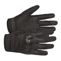"Перчатки полевые стрелковые ""FFG-P"" (Frogman field gloves with knuckles)"", Combat Black"