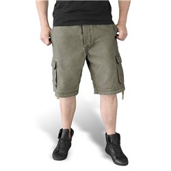 "Шорты ""SURPLUS VINTAGE SHORTS WASHED"", Washed olive"
