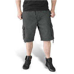 "Шорты ""SURPLUS VINTAGE SHORTS WASHED"", Washed black"