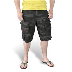 "Шорты ""SURPLUS TROOPER SHORTS"", Washed black camo"