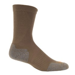 "Носки тактические ""5.11 Slip Stream Crew Sock"", Dark Coyote"