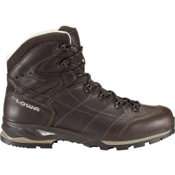 "Ботинки ""Lowa Hudson LL Mid"", Dark Brown"