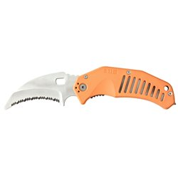 "Нож тактический ""5.11 LMC Curved Rescue Blade"", Orange"