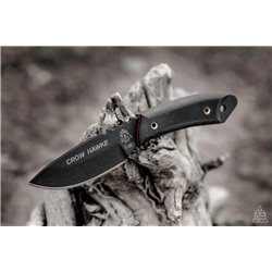 "Нож ""TOPS KNIVES Crow Hawke"", Black"
