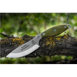 "Нож ""TOPS KNIVES Scandi Woodsman"", Olive"