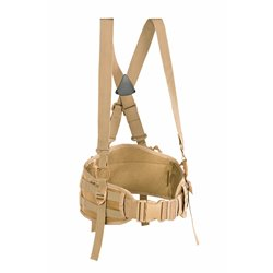 "Пояс разгрузочный с подтяжками MOLLE ""PUBS""(Padded Unloading Belt w/Suspenders), Coyote Brown"