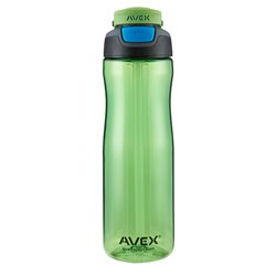 "Бутылка для воды (фляга) ""AVEX Wells AUTOSPOUT® Straw Water Bottle"" (750 ml), Electric green"