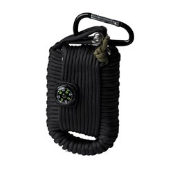 "Набор выживания ""PARACORD SURVIVAL KIT LARGE"", Black"