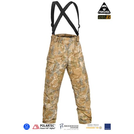 "Брюки полевые зимние ""PCWCP-Alpha"" (Punisher Combat Winter Constant Pants Polartec Alpha/P.Fill), Covert Arid Camo Pat. D 697,31"