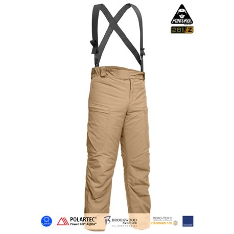 "Брюки полевые зимние ""PCWCP-Alpha"" (Punisher Combat Winter Constant Pants Polartec Alpha/P.Fill), Coyote Brown"