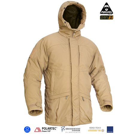 "Куртка полевая зимняя ""PCWAJ-Power Fill"" (Punisher Combat Winter Ambush Jacket Polartec Power Fill), Coyote Brown"