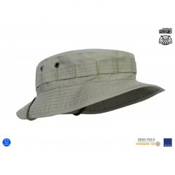 "Панама военная полевая ""MBH"" (Military Boonie Hat) - Reinforced Canvas"", Stone Grey"