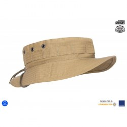 "Панама военная полевая ""MBH"" (Military Boonie Hat) - Reinforced Canvas"", Coyote Brown"