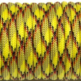 Паракорд 550 yellow camo #056