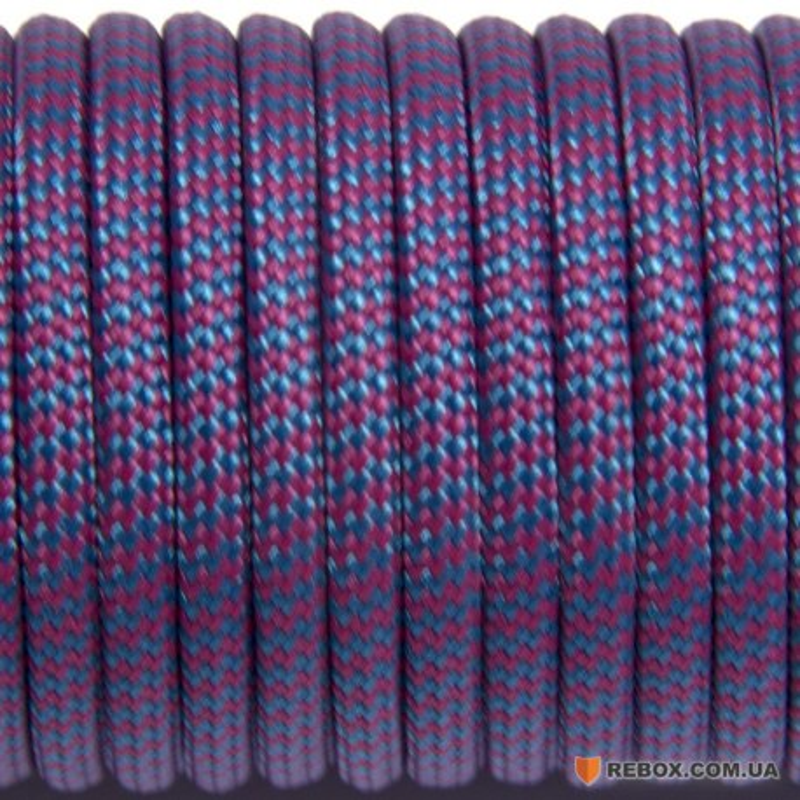 Паракорд 550 sky purple wave #133