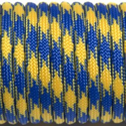 Паракорд 550 blue & yellow #212