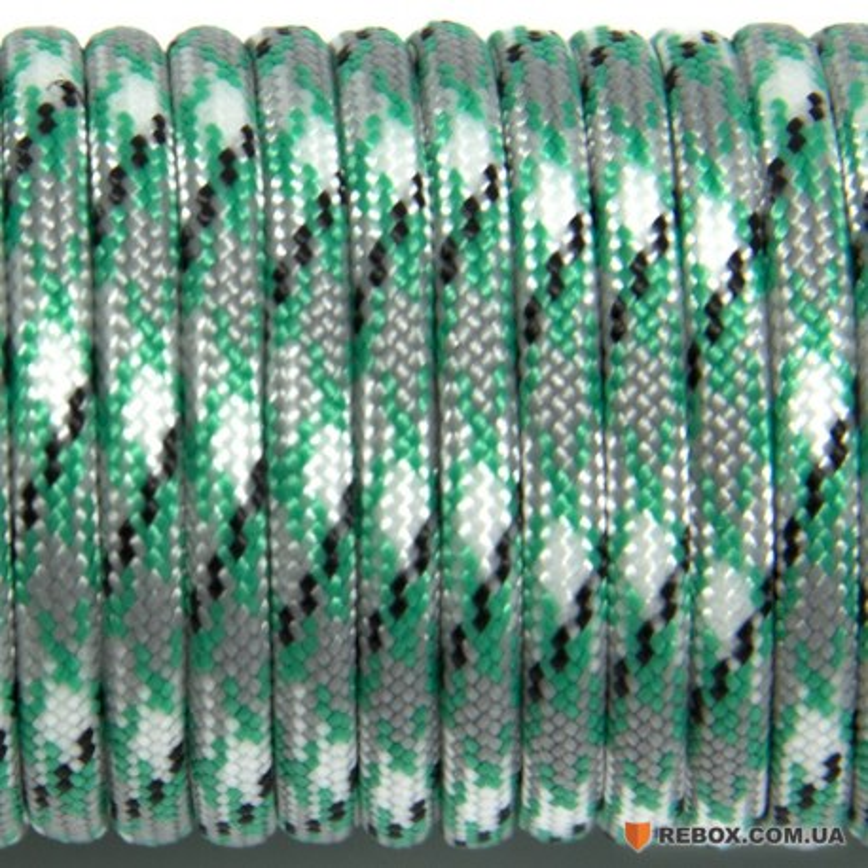Паракорд 550 green snake #250