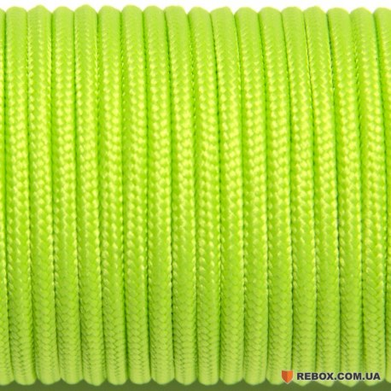 Паракорд 100 fluor green #017-2