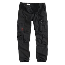 "Брюки ""SURPLUS AIRBORNE TROUSERS SLIMMY"", Чёрный (Black)"