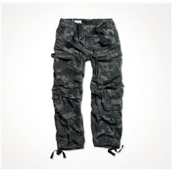"Брюки ""SURPLUS AIRBORNE VINTAGE TROUSERS"", Black camo"