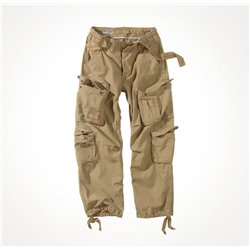 "Брюки ""SURPLUS AIRBORNE VINTAGE TROUSERS"", Washed beige"