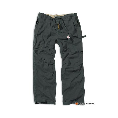 """Брюки """"SURPLUS ATHLETIC TROUSERS"""", Washed black"""