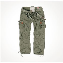 "Брюки ""SURPLUS PREMIUM VINTAGE TROUSERS"", Washed olive"