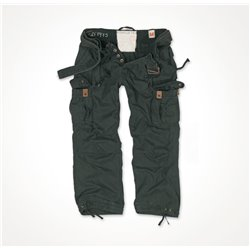 "Брюки ""SURPLUS PREMIUM VINTAGE TROUSERS"", Washed black"