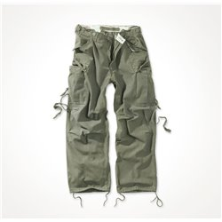 "Брюки ""SURPLUS VINTAGE FATIGUES TROUSERS"", Washed olive"