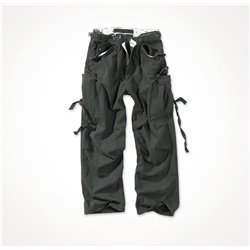 """Брюки """"SURPLUS VINTAGE FATIGUES TROUSERS"""", Washed black"""