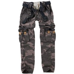 "Брюки милитари женские ""SURPLUS LADIES TREKKING PREMIUM"", Black camo"