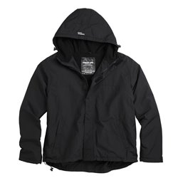 "Куртка анорак ""SURPLUS ZIPPER WINDBREAKER"", Чёрный (Black)"
