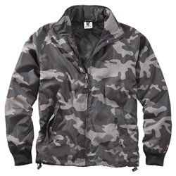 "Куртка ветровка ""SURPLUS Windbreaker Basic"", Black camo"